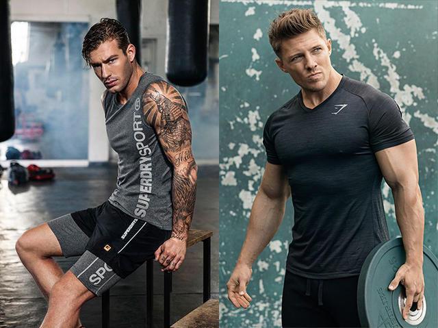 """""""超Man健身房穿搭!4大型男健身Look,有肌肉還要有型!"""""""