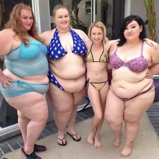 """""""因為胖,所以醜!胖子,你該減肥了!"""""""