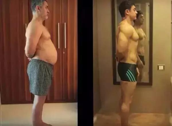 為拍新片暴漲194斤,再練回肌肉男!這樣的男演員我服!