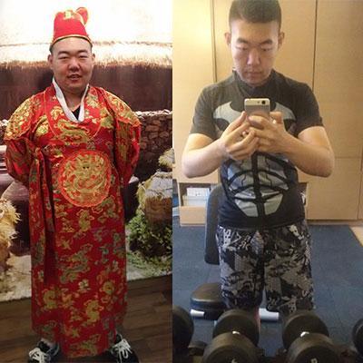 4個月甩肉40斤,愛上健身變身陽光型男