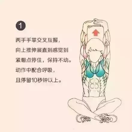 健身後如何放鬆全身肌肉?