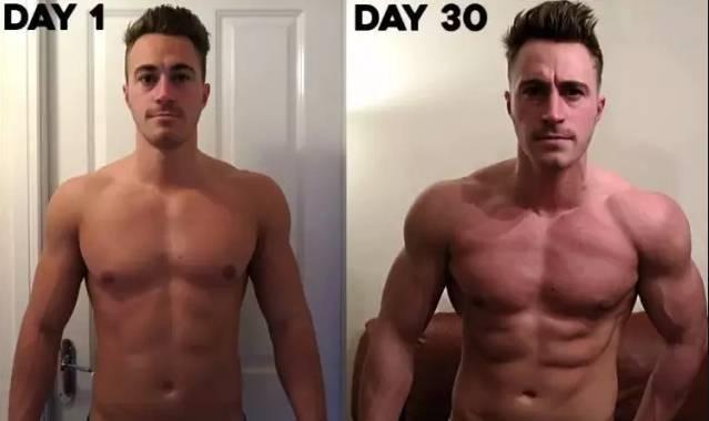 俯臥撐 每天堅持做三百個一個月後會有什麼變化