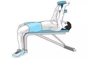 仰臥直臂上拉,經典動作練胸肌