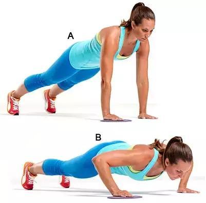 一些自重無器械健身動作,減脂瘦身不用去健身房!