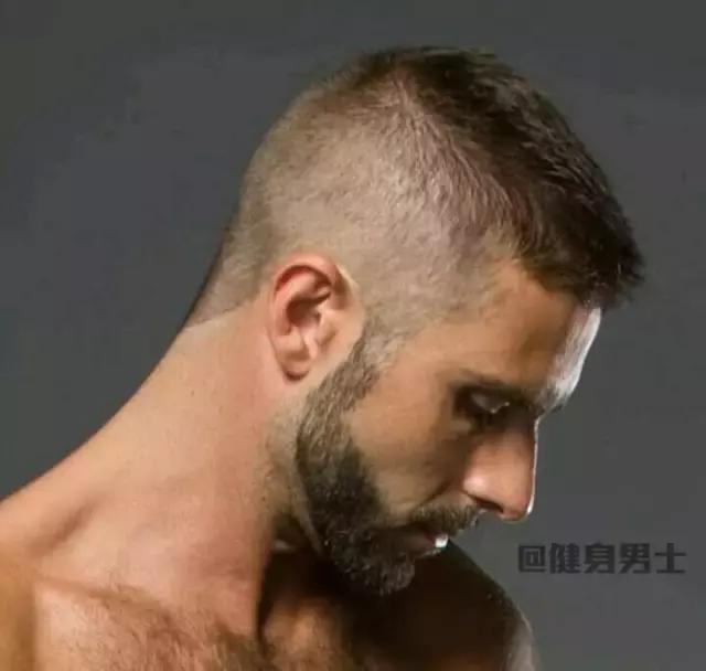 """男人健身最佳髮型,""""戰士寸頭""""!"""