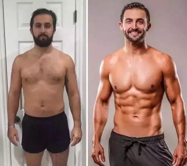 """男人由醜變帥,終於明白為什麼有人說""""健身=整容""""了!"""