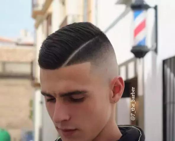 型男酷愛的一道槓髮型,帥掉渣