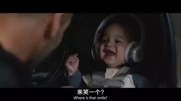 傑森斯坦森終當爸,又是一個小硬漢的節奏……